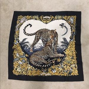 Silk Hermès scarf
